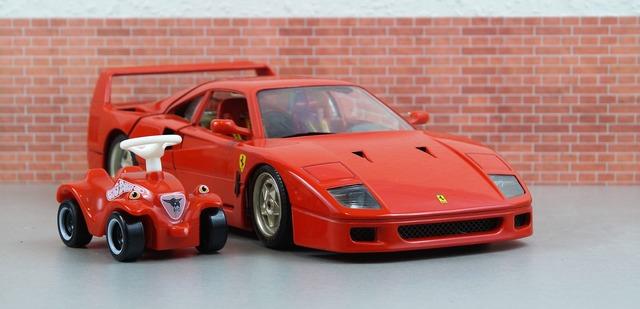 Ferrari bobby car f40.