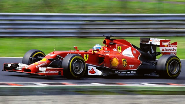 Ferrari formula 1 fernand alonso.
