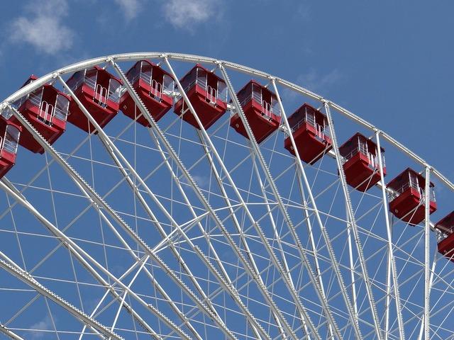 Ferris wheel ferris wheel, travel vacation.