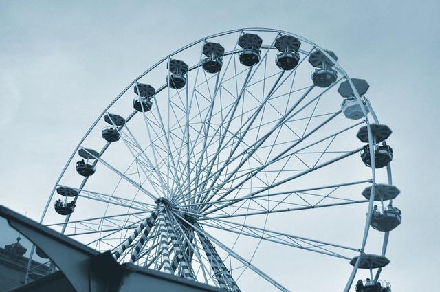 Ferris wheel games fairground.