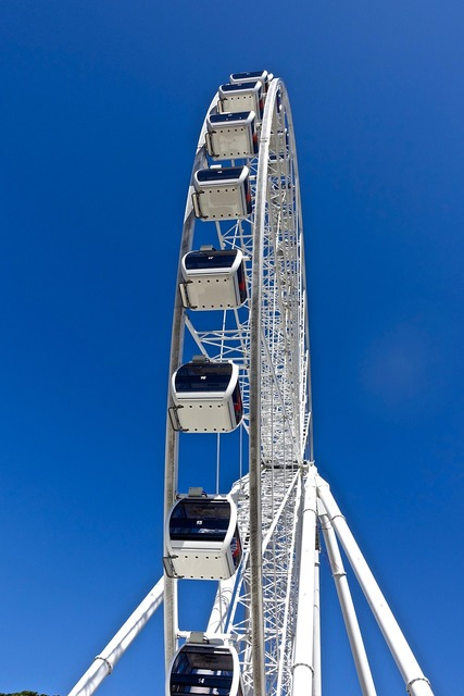 Ferris wheel joyride view.