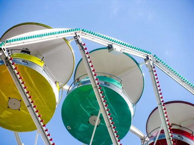 Ferris wheel wheel fun.