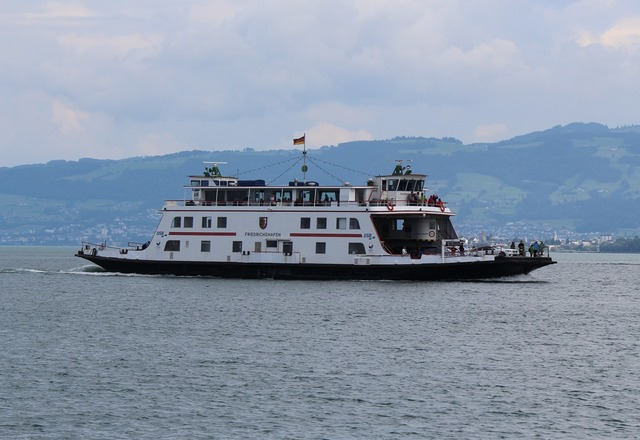 Ferry lake constance car ferry.