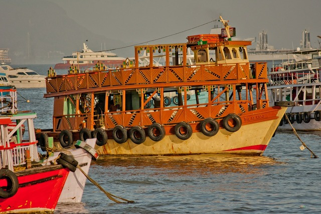 Ferry old india.