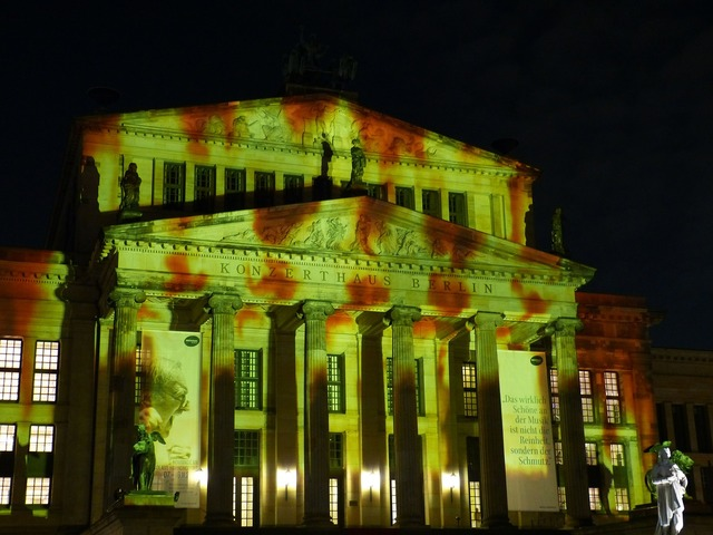 Festival of lights berlin capital, places monuments.