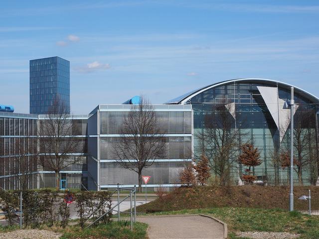 Festo company headquarters building, architecture buildings.