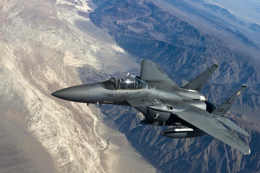 Fighter jet f 15 strike eagle fighter aircraft.