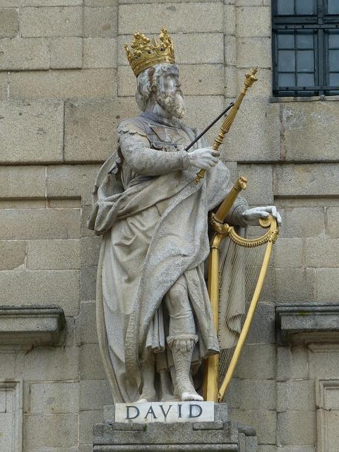 Figure king david, religion.