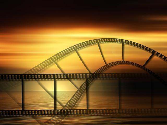 Filmstrip slide show presentation slideshow, nature landscapes.