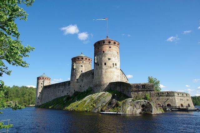 Finland savonlinna fortress.