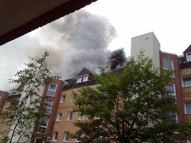 Fire brand apartment fire.