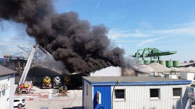 Fire brand factory.