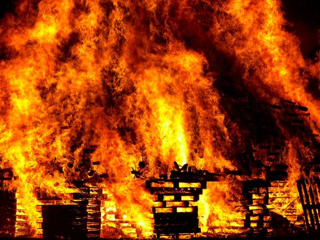 Fire burn hell.