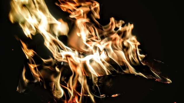 Fire demons photography.