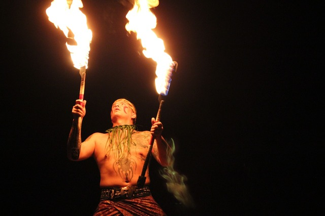 Fire entertainer tribal, people.