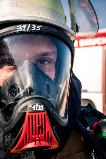 Fire fire fighter respiratory protection.
