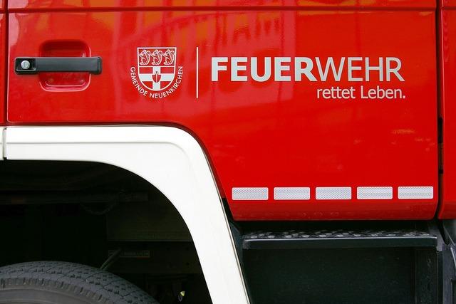 Fire firefighters fire truck.