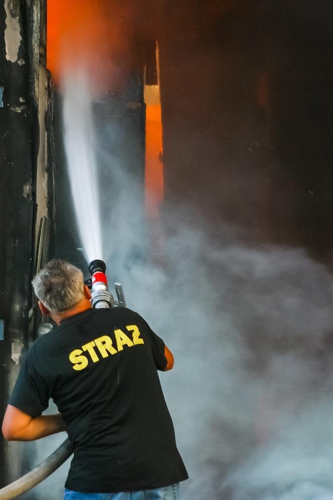 Fire fireman firefighter.