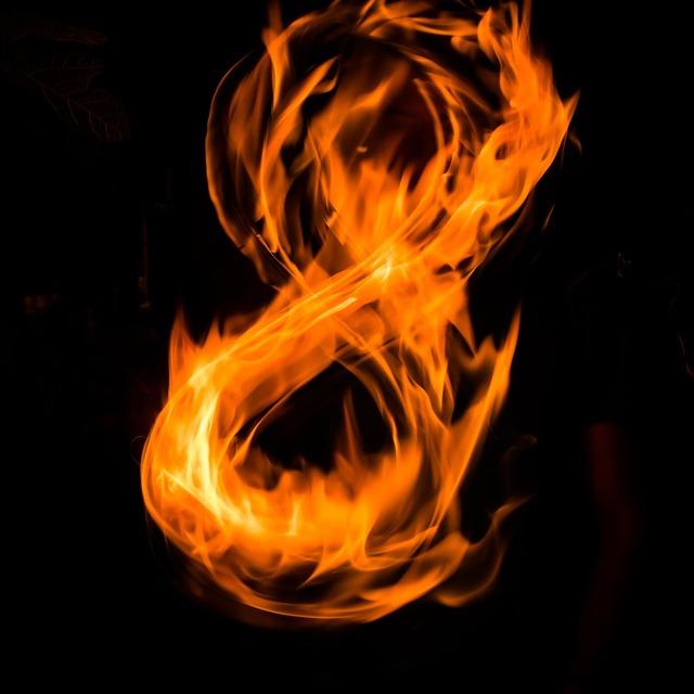 Fire flame heat.