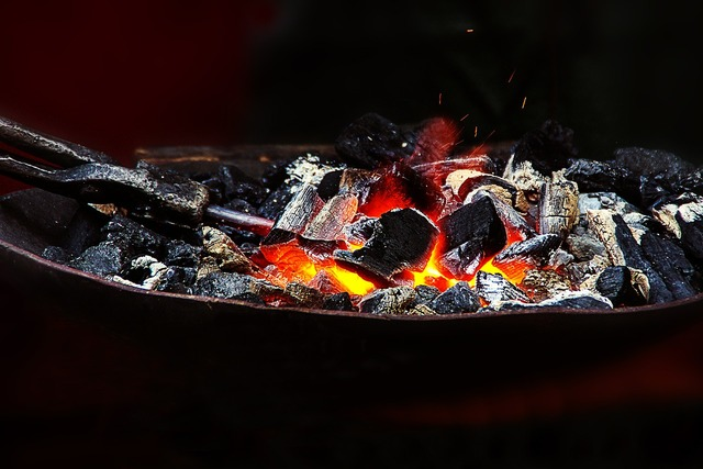 Fire forge embers.