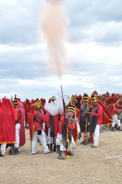 Fire gunpowder religion, religion.