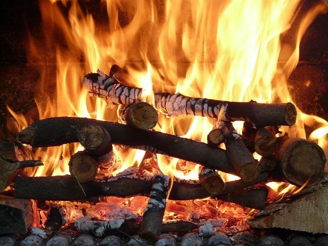 Fire heat flame.