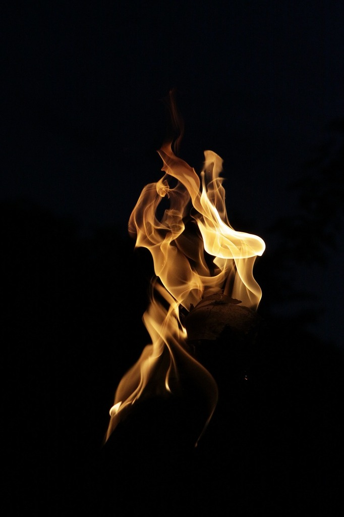 Fire light flame.