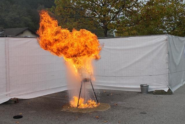 Fire oil water.