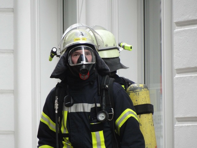 Fire respiratory protection fire fighter.