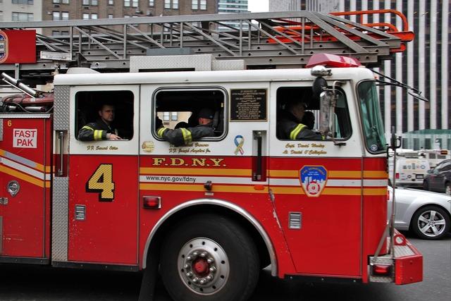 Fire truck american fdny.