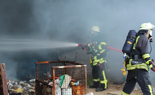Fire use respiratory protection.