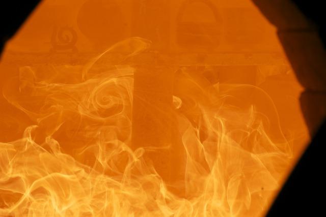 Fire wood fire flame.
