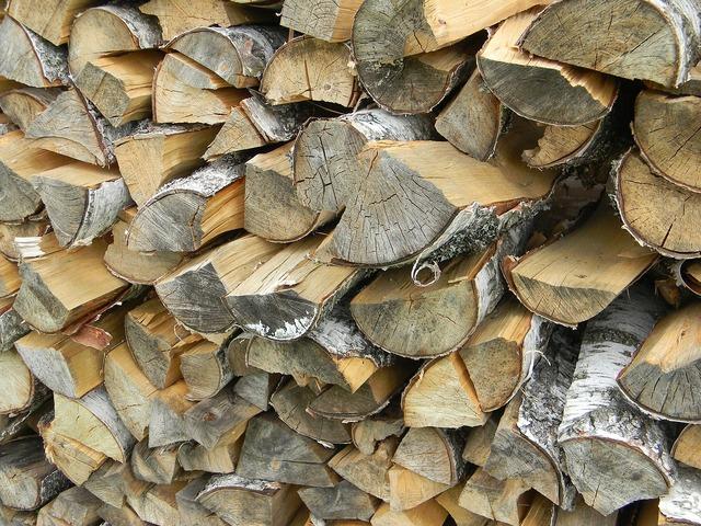 Firewood dacha wood.