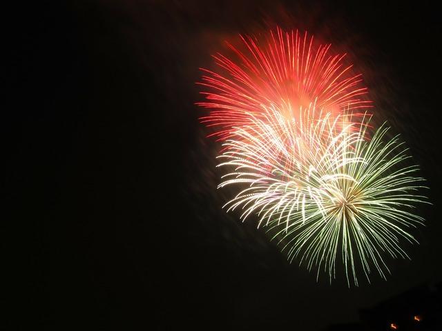 Firework fireworks lights.
