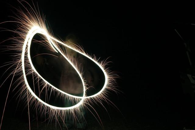 Fireworks bengali fire match.