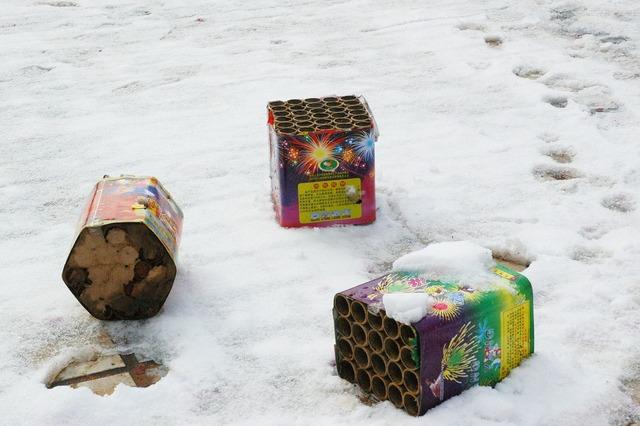 Fireworks firecracker winter, emotions.