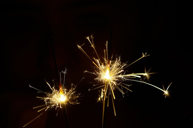 Fireworks lights light.