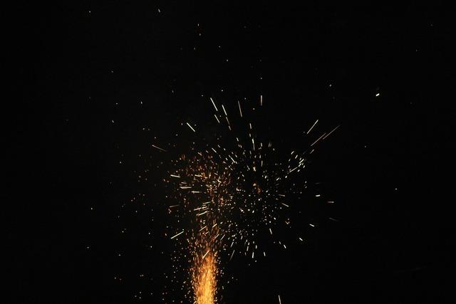 Fireworks pop stuff light effect.