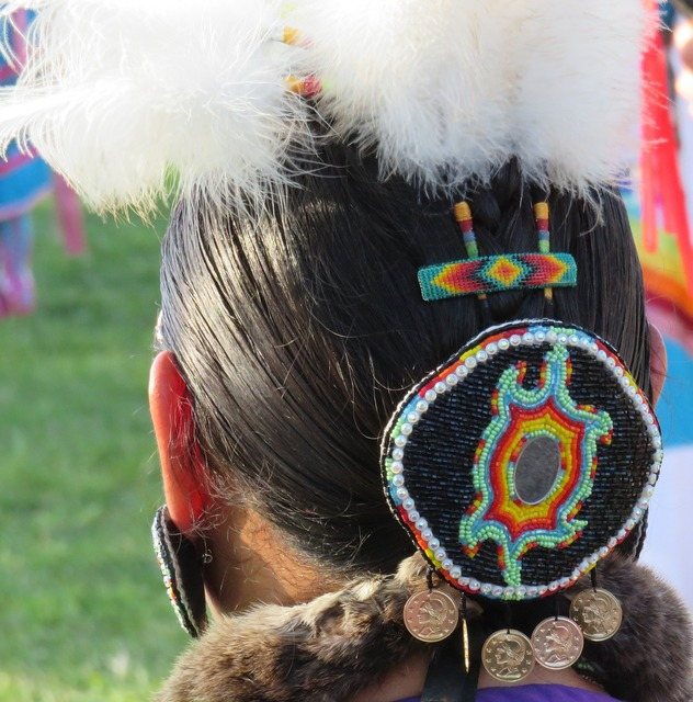 First nation headdress feather, sports.