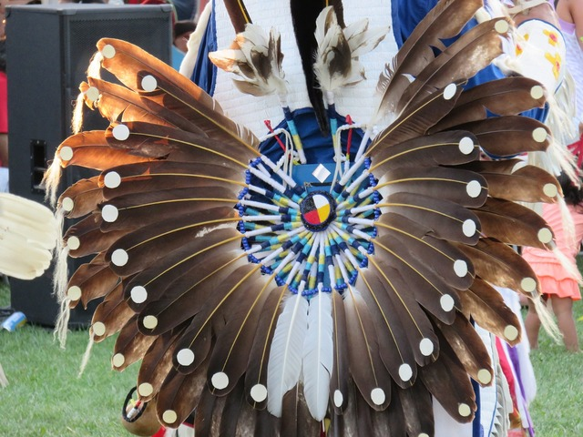 First nation warrior feather, sports.