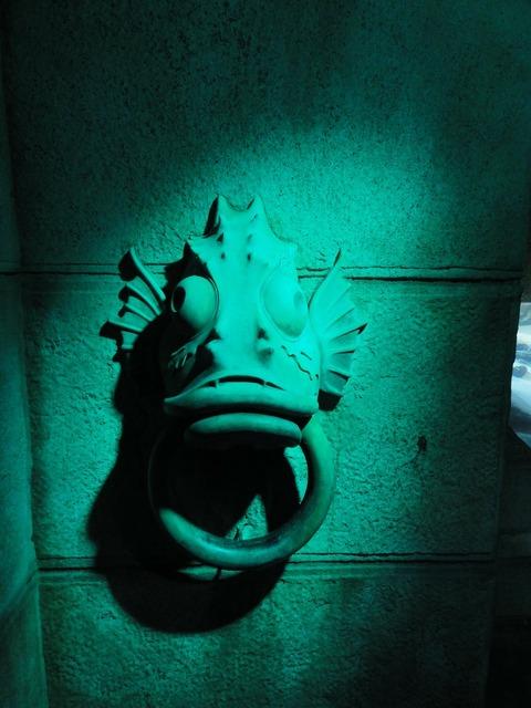 Fish decorative turquoise.