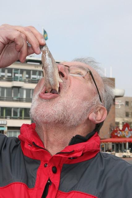 Fish eat fish market, food drink.