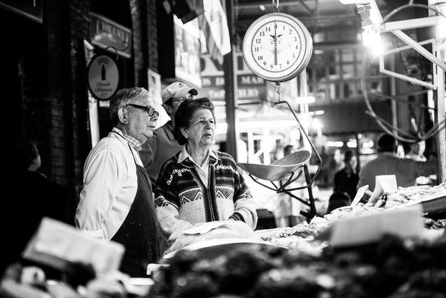 Fish market market traditionally.