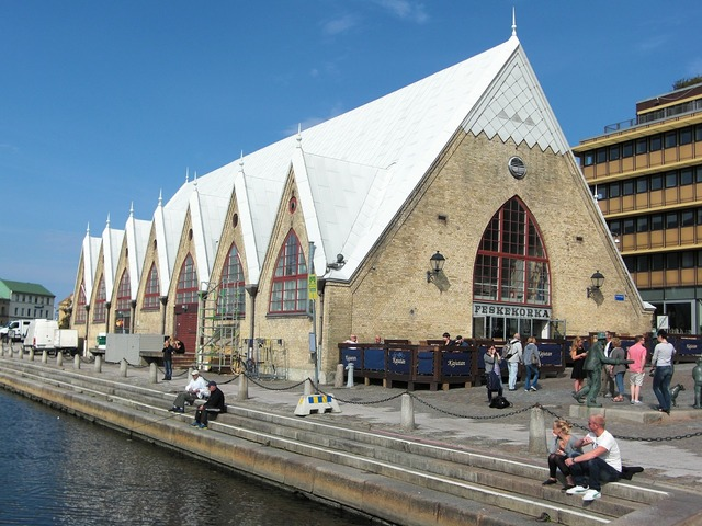 Fish market sweden gothenburg.