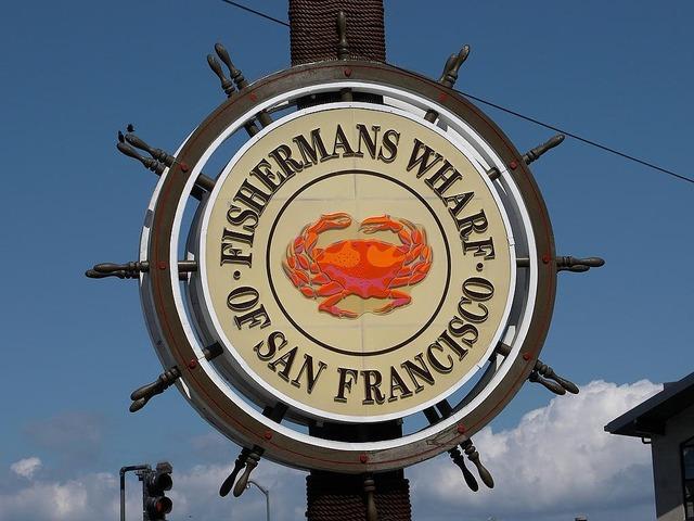 Fishermans wharf pier port, architecture buildings.