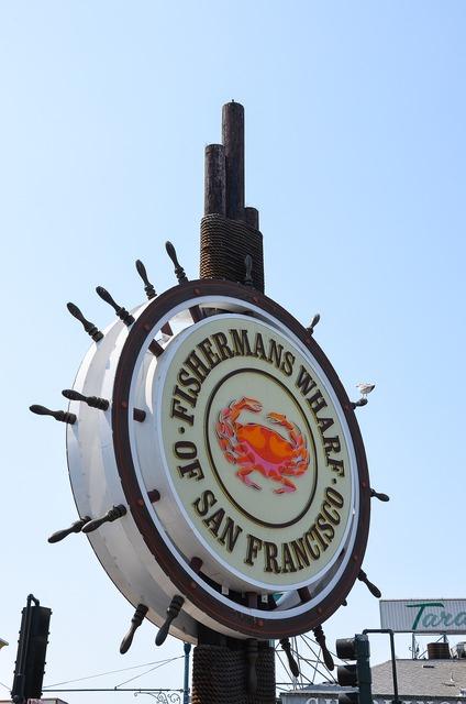 Fishermans wharf usa america.