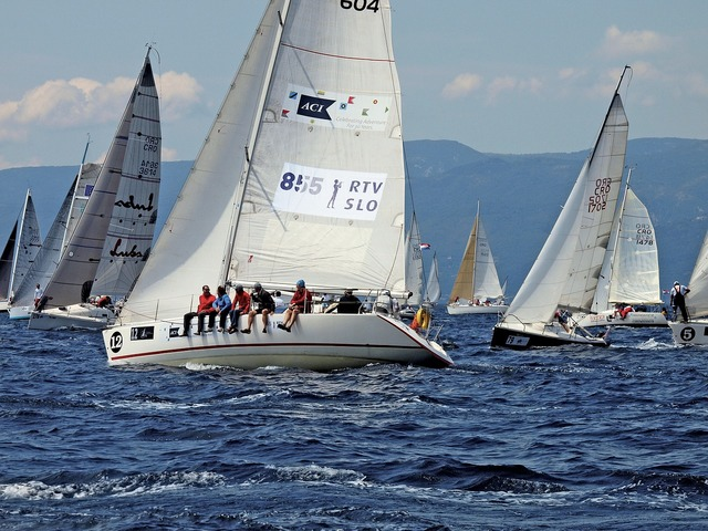 Fiumanka sailing race, sports.