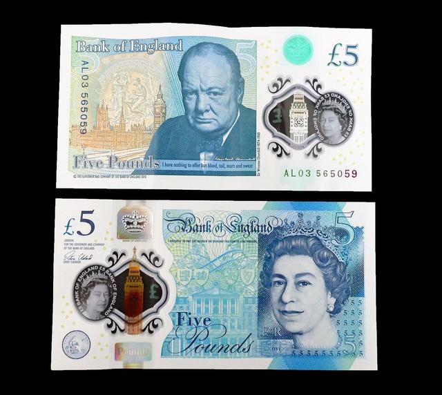 Five pound note cash money, business finance.