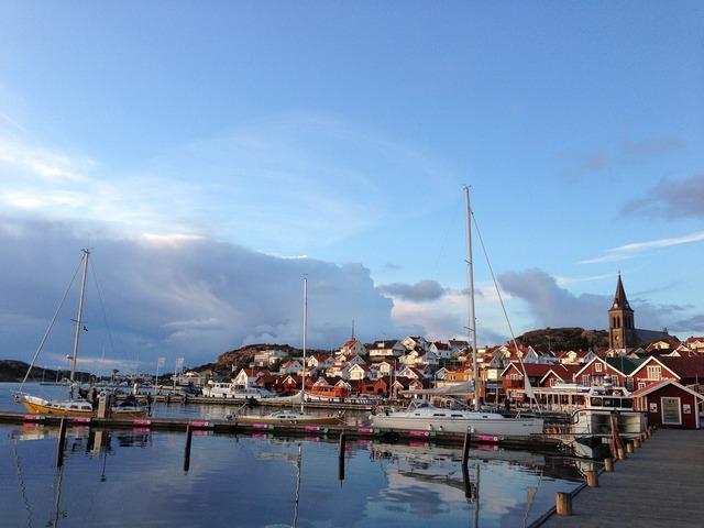 Fjällbacka sweden archipelago.