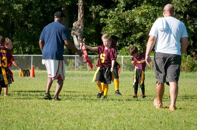Flag football football flag, sports.